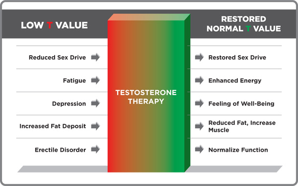 signs of testosterone increase